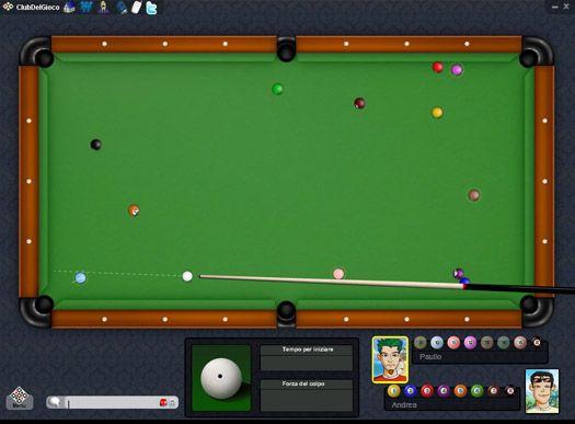 Palla 8 2D Online ClubDelGioco